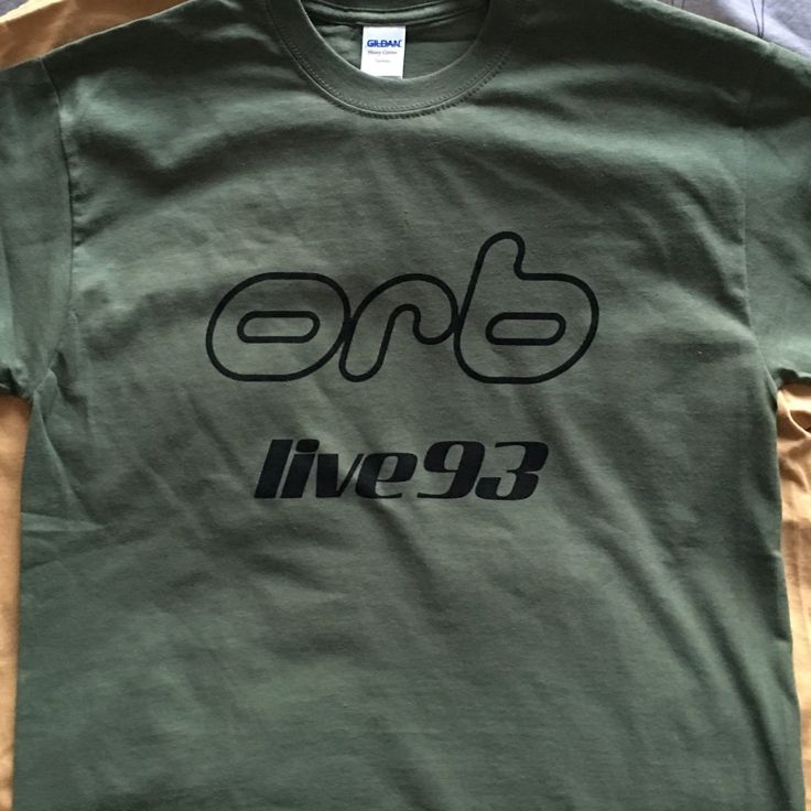 Little fluffy t shirts (not, they're very strong and extremely durable ;) #theorb #ambient #tshirts