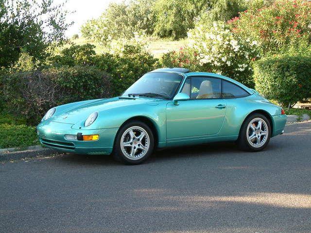 Porsche 911 (993) Ocean Jade Metallic