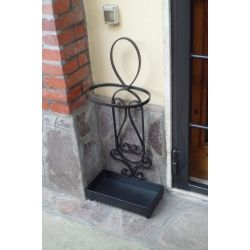 Wrought Iron Umbrella Stand. Customize Realizations. 1027
