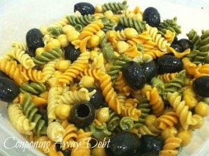 Easy Summer Pasta Salad #Recipe