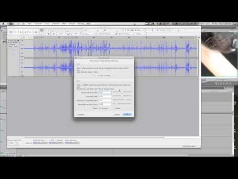 how to remove noise from video | instruction | Pinterest