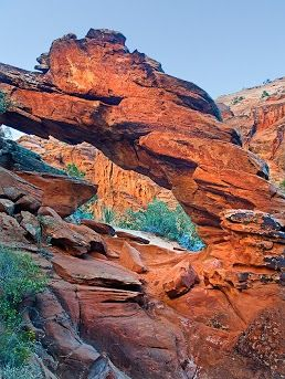 Snow Canyon. St George, Utah