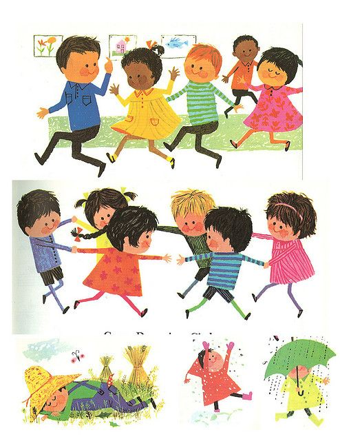 The Magic of Music - Kindergarten © 1965 Ginn and Company Illustrated by Aliki