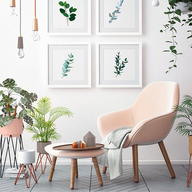 Au Naturel Dans Un Interieur Exterieur Le Rose S Accorde Avec Le Vert Maisondeco Peinture Relooktout Rosebal In 2020 Home Decor Living Etc Decor Magazine