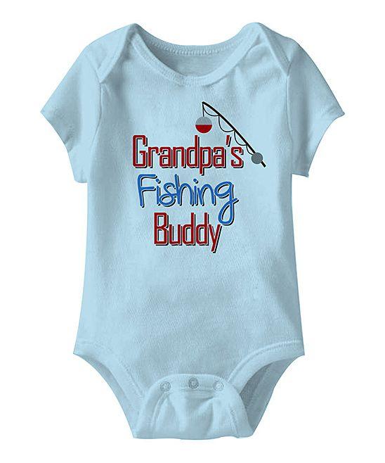 'Grandpa's Fishing Buddy' Bodysuit
