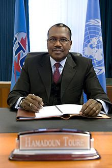 Dr. Hamadoun Touré of Mali is Secretary General of the International Telecommunication Union (ITU), the specialized agency of the United Nations dedicated to information and communication technologies (ICTs), since 2007. He works to fulfil ITU's mandate to 'connect the world' and help achieve the Millennium Development Goals.