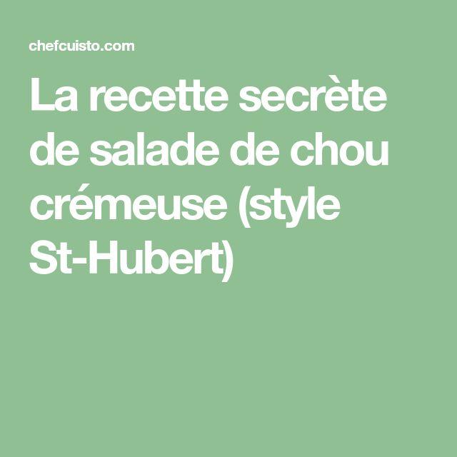 La recette secrète de salade de chou crémeuse (style St-Hubert)