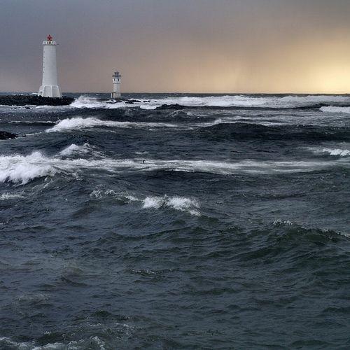 LighthousesAkrans Iceland, Lights House, Iceland Obsession, Lighthouses 27, Akrans Peninsula, Danger Water, Beacon Towers, Guide Lighthouses, Lighthousesgreen Collection