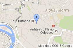 Foro Romano, mapa de localización