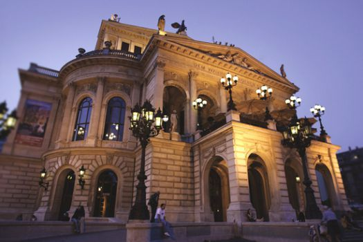 Alte Oper (Old Opera House), Frankfurt, Germany