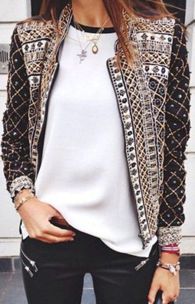 beaded jacket                                                                                                                                                                                 More