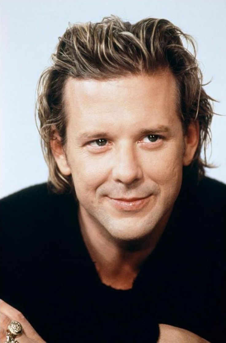Mickey Rourke-back in the day!