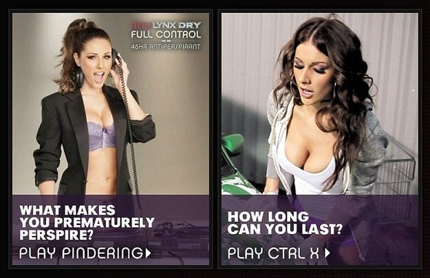 """Seduction MKT: """"Degrading"""" Deodrant Ads Banned In TheUK #sexvertising"""