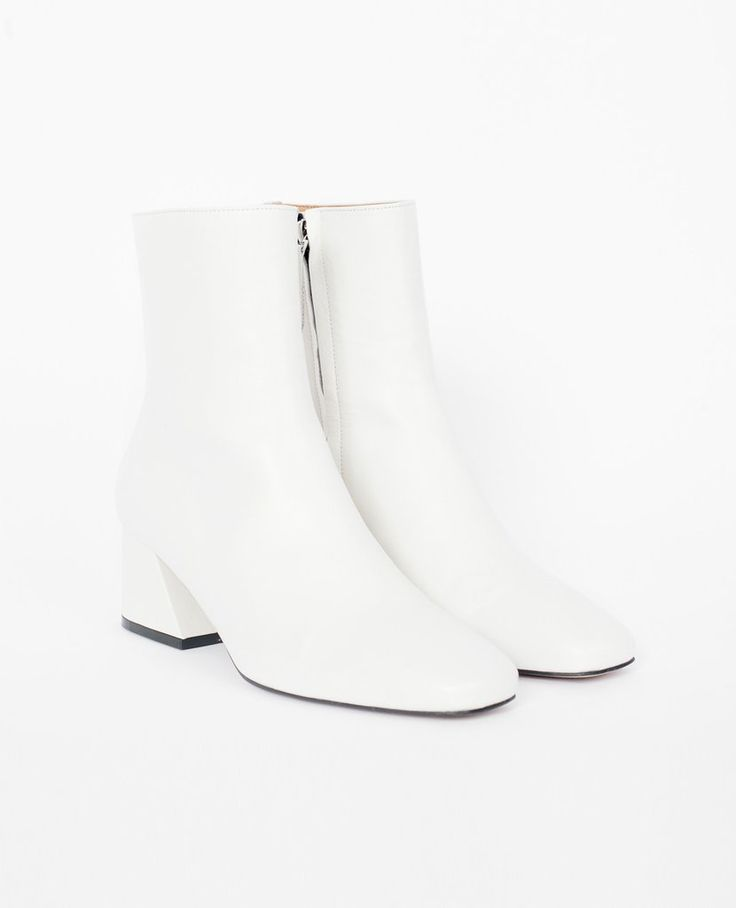 CHAUSSURE LAPIN High Ankle Boot / White – Voyager + Revolver