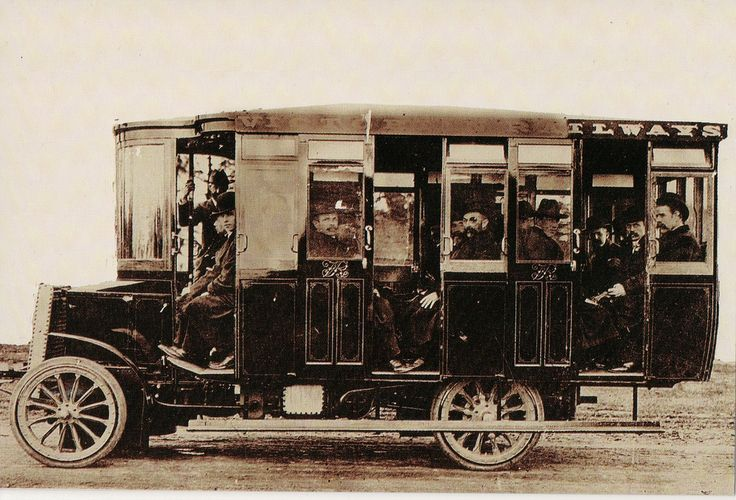 The first Melbourne bus service began operation in 1905. It ran between Prahran Railway Station and Malvern Town Hall. Early Chelmsford buses, such as the one pictured, were kerosine-fired and steamed-powered. This historic photograph and thousands of other varied and fascinating images from part of the Public Transport Corporation Photogaphic Library. The Library has been transferred to the care of Public Records Office Victoria, which holds our state's valuable archives. You can get...
