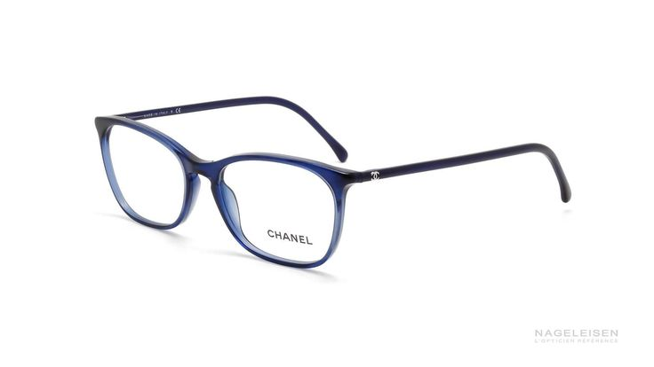 The Eye Glasses Chanel Signature CH 3281 Blue CH3281 C503 54-17 | Visiofactory
