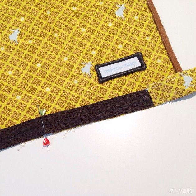 tutorial kissen mit paspel und rei verschluss tophill kitchen kissen kissen n hen. Black Bedroom Furniture Sets. Home Design Ideas