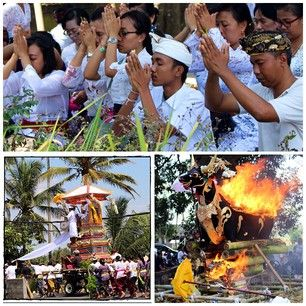 Amazing send off for this soul. The Balinese sure know how to celebrate life and death.