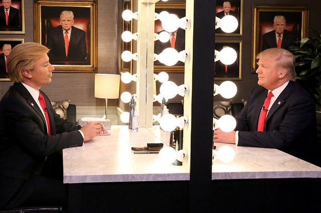 Jimmy Fallon Performed His Donald Trump Impression In Front Of Donald Trump - BuzzFeed News