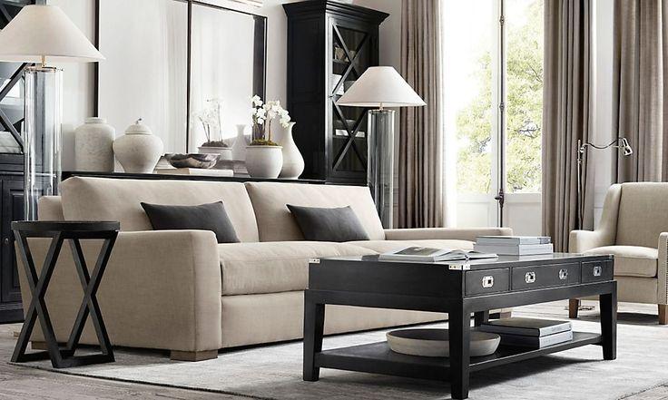 Restoration Hardware- Living Room