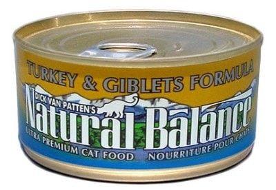NA CAT CAN - TURKEY/GIBLET CAT CAN 24/3OZ - ** - NATURAL BALANCE PET FOODS - UPC: 723633042505 - DEPT: NATURAL BALANCE