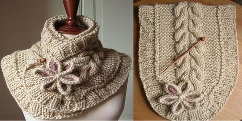 coolcreativity2014:  DIY A Beautiful Knit Scarf with...