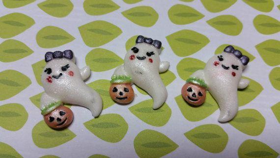 Edible Cake/Cupcake decorazioni 12 fantasmi di Halloween