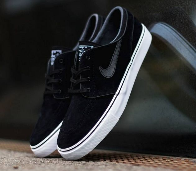 Nike SB Zoom Stefan Janoski Black/Green | Stefan janoski, Fancy and Black
