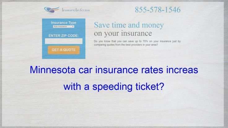 Minnesota Car Insurance Rates Soar With A Traffic Ticket With