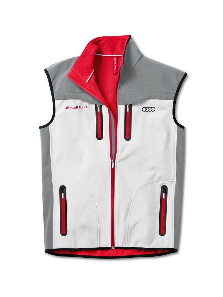 Men's soft shell vest.    Available from: http://www.m25audi.co.uk