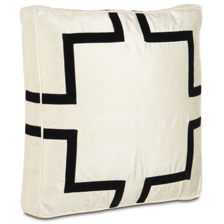 Black Velvet Box Designer Pillow design by Studio 773