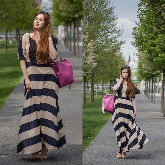 Get this look: http://lb.nu/look/8710849  More looks by Drew: http://lb.nu/drewsbeauty  Items in this look:  Sammydress Dress, Blubery Bag, Primark Shoes   #minimal #romantic #maxidress #dress #spring #curvy #sammydress #handmade #design