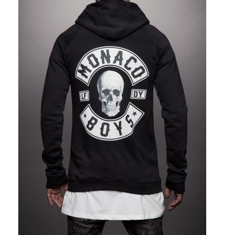 Monaco Boys hooded zip
