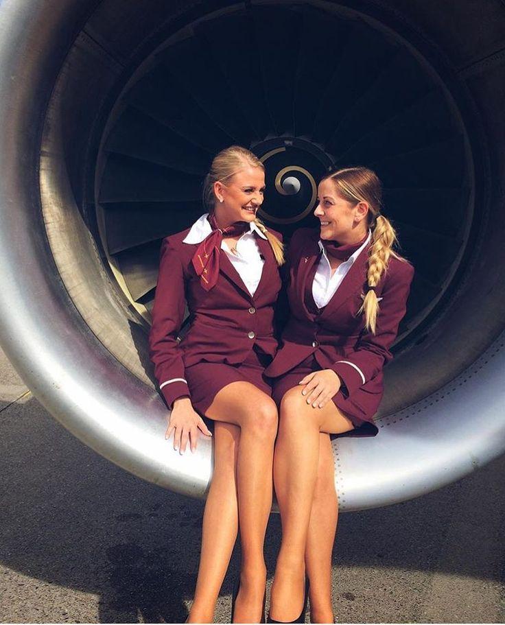 Sexy Retro Airline Stewardess Or Flight