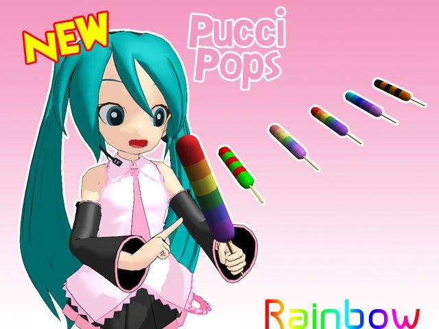 Pucci Rainbow Lolipops  http://black-bladen.deviantart.com/art/Pucci-Pops-295750673?q=gallery%3ABlAcK-BlADEn%2F28427554&qo=2