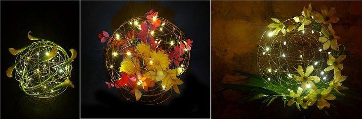 Mes centres de table lumineux et originaux grâce à Novolux - La Mariée en Colère Blog Mariage