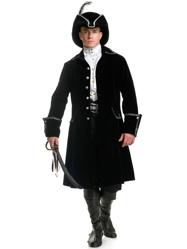 Distinguished Pirate Jacket Costume | Wholesale Pirate Costumes for Men
