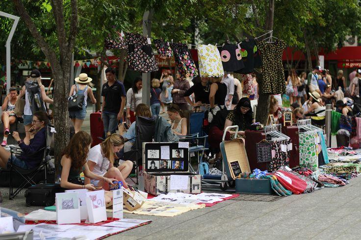Sunny Sunday markets in beautiful Brisbane! Pamela Barber image