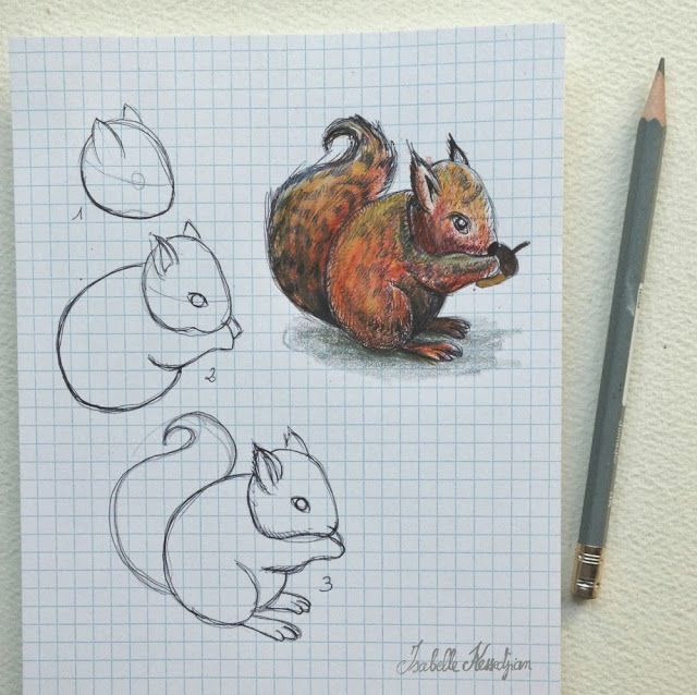 Isabelle Kessedjian DIY  dessin du mercredi 5