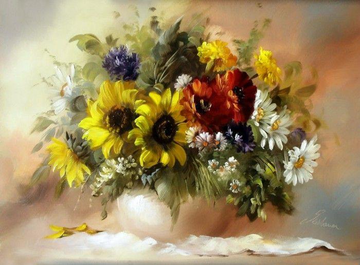натюрморты художник Szechenyi Szidonia-06