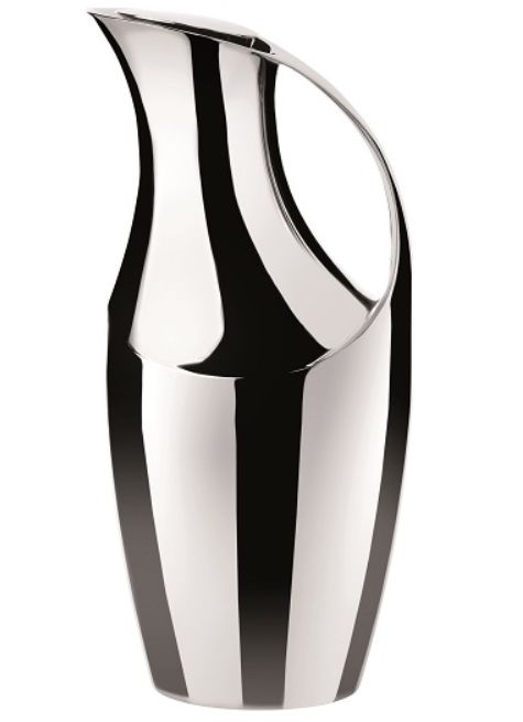 Shiny, Sexy, Sleek, Stelton's 1950's influenced  vacuum jug.