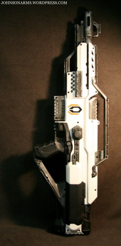 Custom nerf gun, Cerberus
