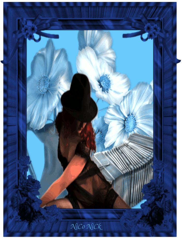 Csodás kék gif