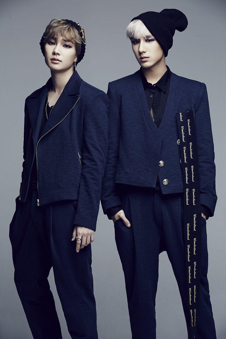 Min Woo and Jeong Min | Boyfriend