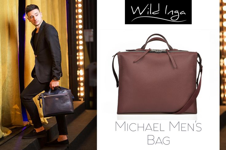 For a stylish outfit, choose the Michael men's bag @wi
