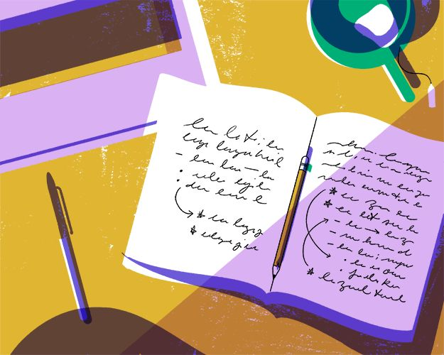 "Writer's block: ""So there's two kinds of writer's block, I think. One of them is the kind of writer's block we talk about which is the 'I don't know what to write about!' writer's block. For that, the the answer is you write every day — you freewrite. You just set yourself down and you write words until there is something interesting to say."""