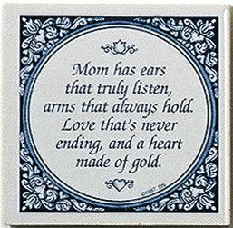 Magnet Tiles Quotes: Mom Has Ears That Listen