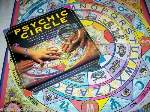 Fireside-Books-Games-THE-PSYCHIC-CIRCLE-Magical-Message-Board-Similar-to-Ouija