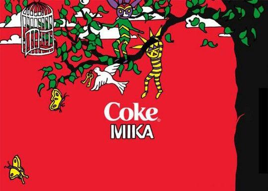 Mika Coke art