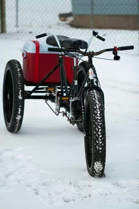 Tandem Fat Bike Via Steven Wilke Bike Pinterest